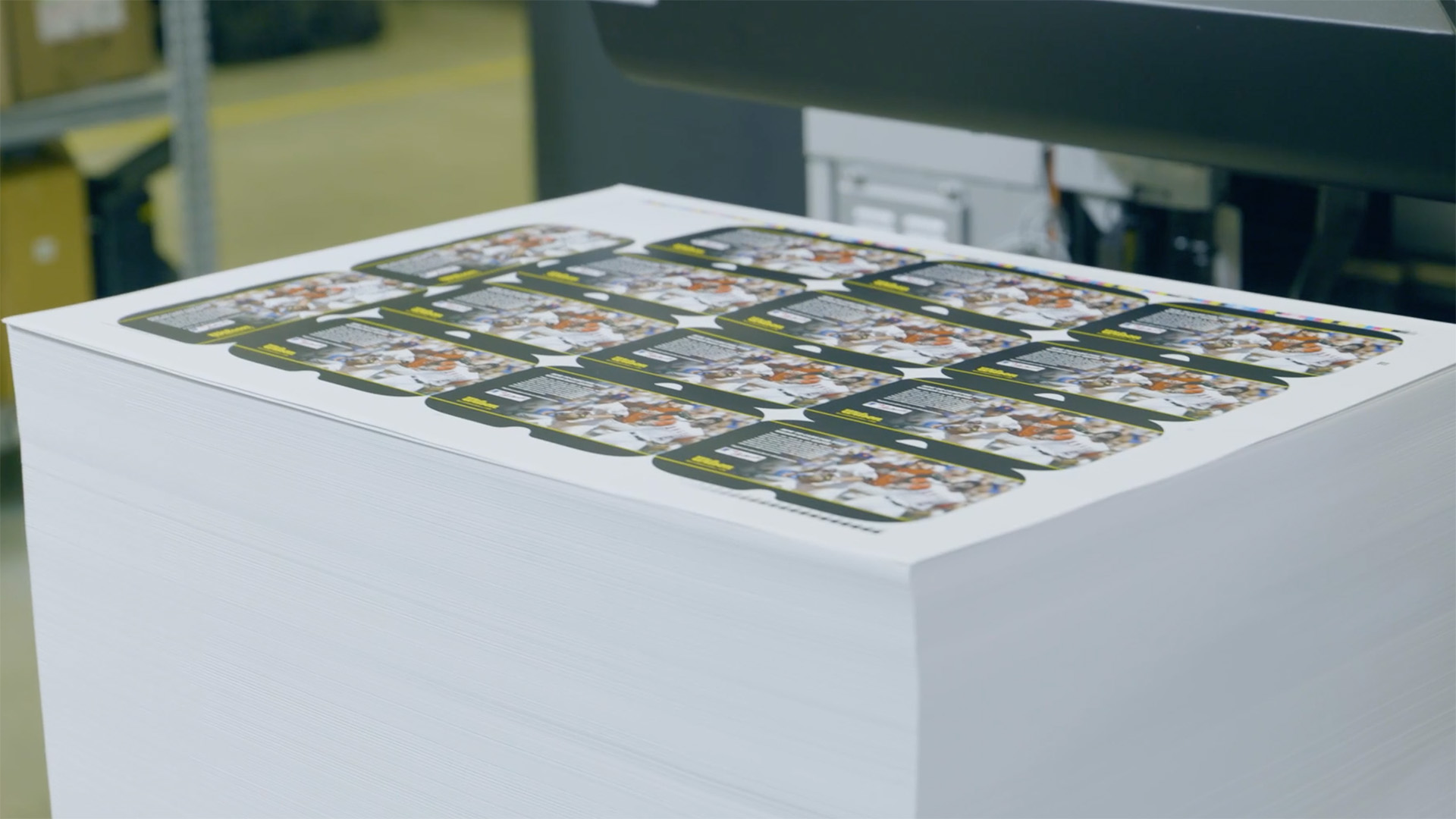 Video preview: The Paper Handling System on the HP Indigo 100K Digital Press