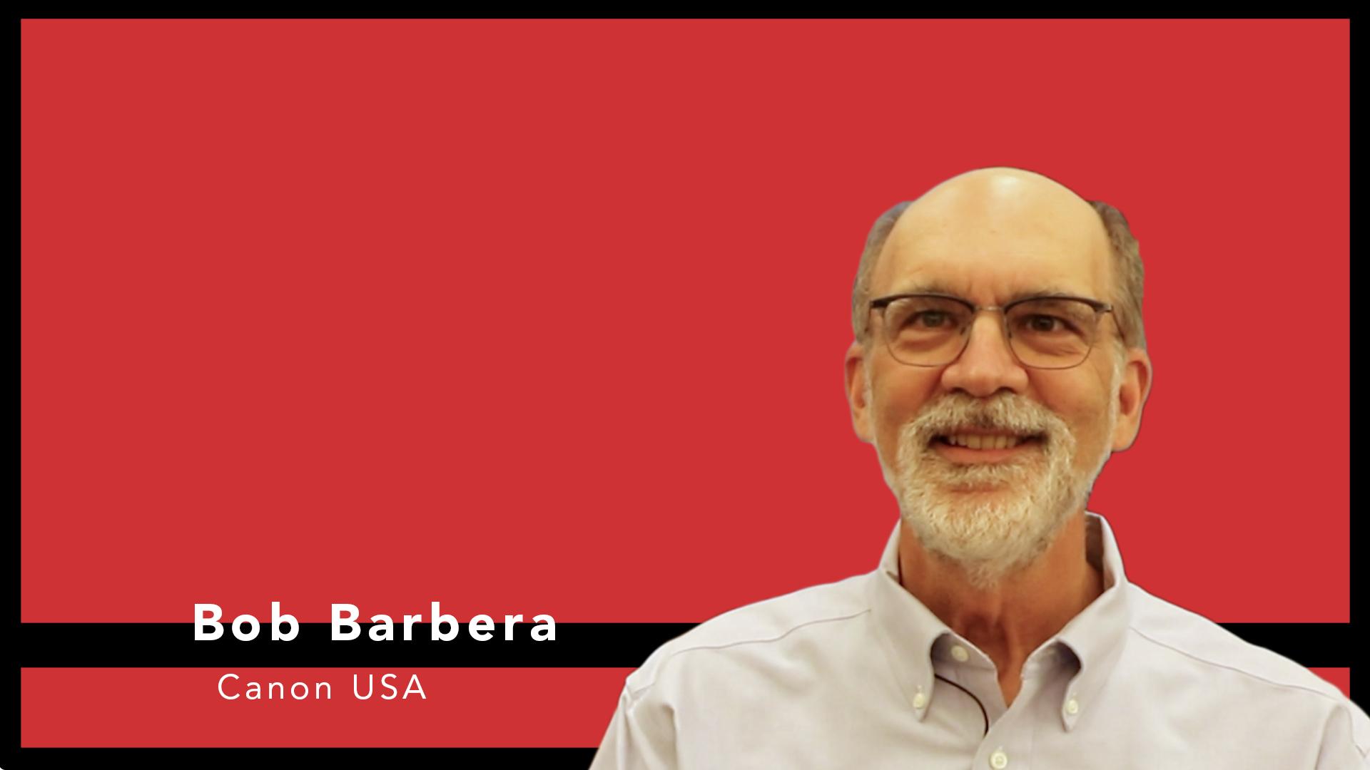 Video preview: Bob Barbera on Canon's PRISMAprepare Go