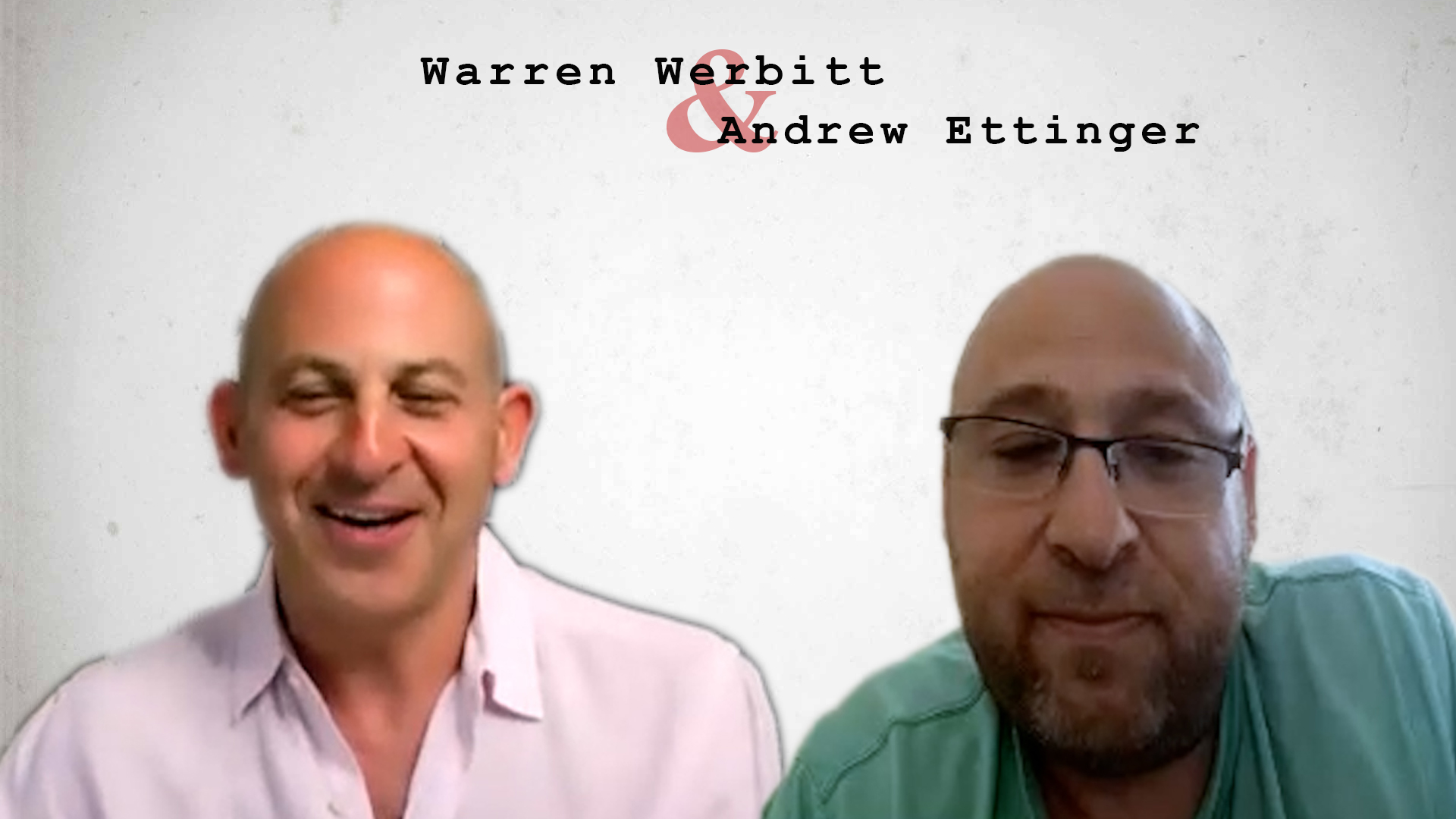 Video preview: Warren Werbitt Goes Printer to Printer with Andrew Ettinger