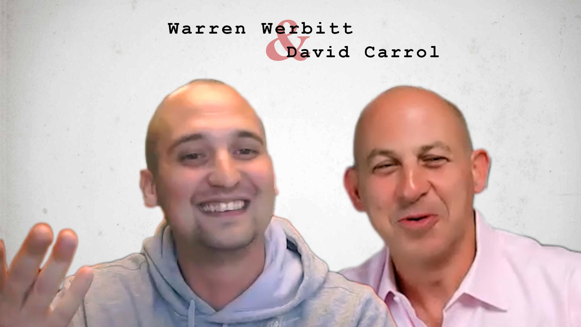 Video preview: Warren Werbitt Goes Printer to Printer with David Carrol