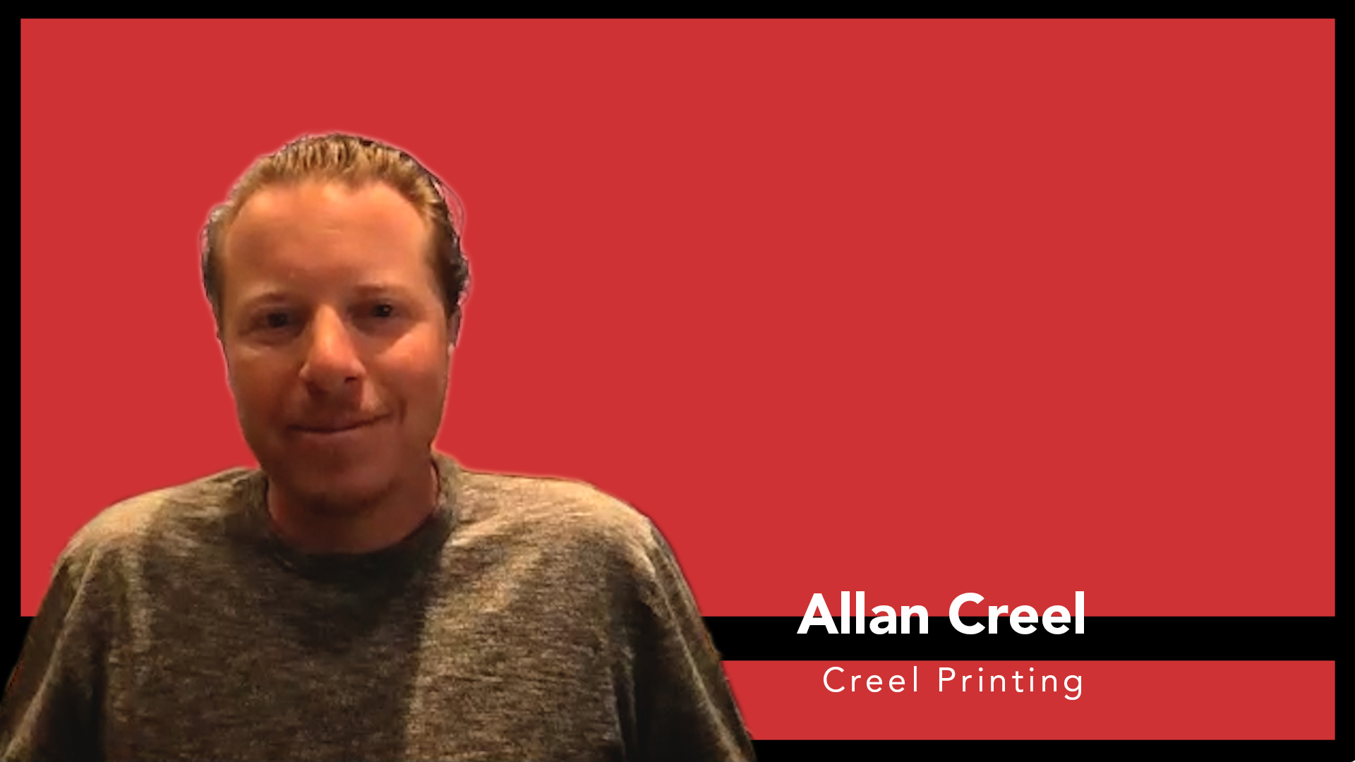 Video preview: Allan Creel Returns to the Printing Industry with Acquisition of Fenske Media